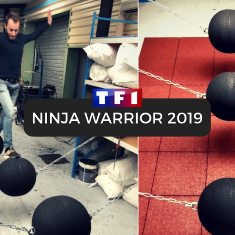 France Construction fournisseur de Ninja Warrior 2019