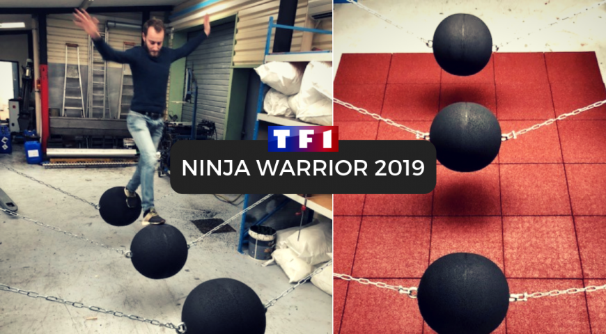 France Construction : Fournisseur officiel de Ninja Warrior 2019